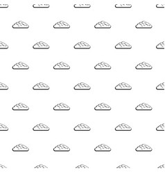spring cloud pattern vector image