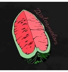 Watermelon 08 A vector image vector image
