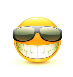 emoticon vector image