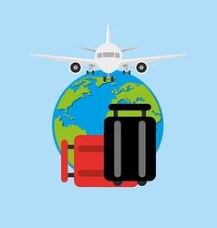 airport terminal design vector image