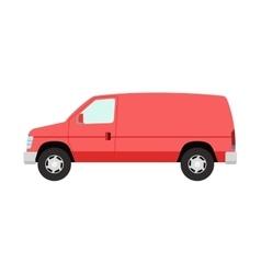 Car vechicle mini van transport vector