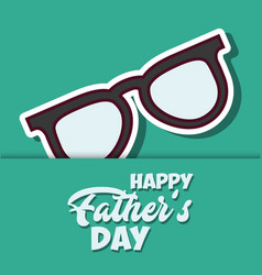 happy father day design vector image vector image
