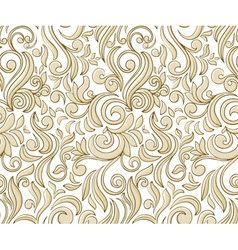 vintage seamless pattern vector image vector image