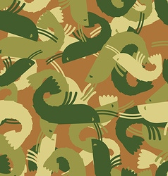 Military texture shrimp plankton army seamless vector