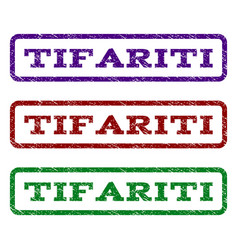 Tifariti watermark stamp vector