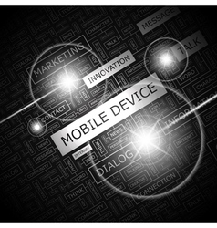 Mobile device vector