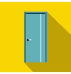 Door icon in flat style vector