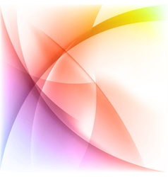 Abstract light colorful background vector image vector image