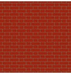 Red bricks wall seamless pattern vector
