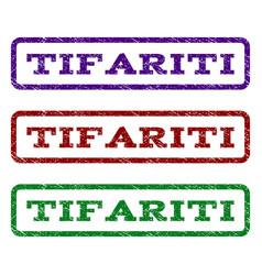 Tifariti watermark stamp vector