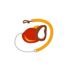 Dog leash icon vector image