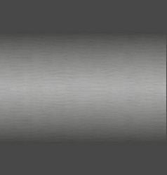 Stainless steel brushed metal background aluminum vector