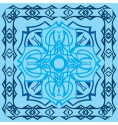decorative tile vector image