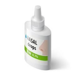 Medical bottle vector