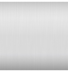 Bright metal background vector image vector image