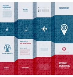 infographics Abstract background card vector image vector image
