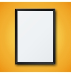 modern frame with shadow vector image