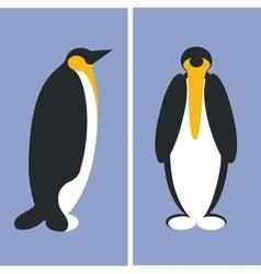 Penguin silhouette 01 vector