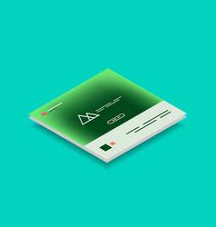Web site page design development concept vector
