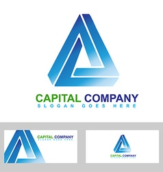 Corporate investment logo vector