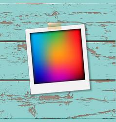 instant vintage photos frames vector image vector image