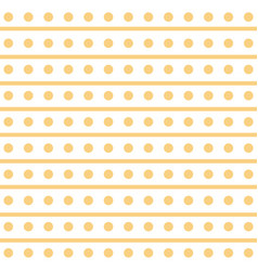 Yellow seamless pattern modern stylish texture vector