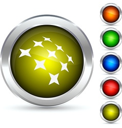 Constellation button vector