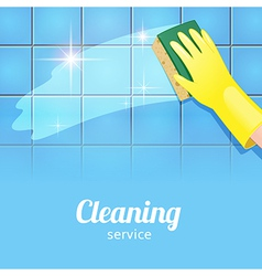 Cleaning background blue vector