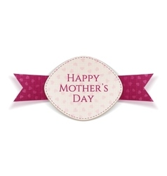 Happy mothers day holiday banner template vector