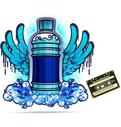 Energy drink design vector