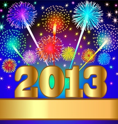 2013 new year background vector