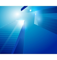 Business centre background vector