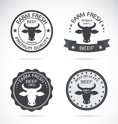 Cow label vector
