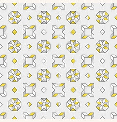 Abstract background in grey and yellow colors vector image