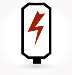battery charge level indicators icon vector image vector image
