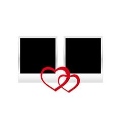 hearts photos vector image vector image