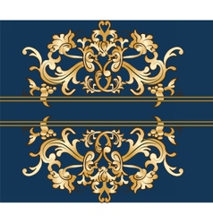Royal imperial classic ornament vector image vector image