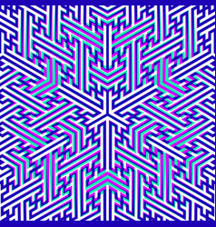swastika ornament background vector image vector image