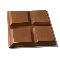 Sweet chocolate vector image