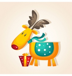 Rudolph vector image