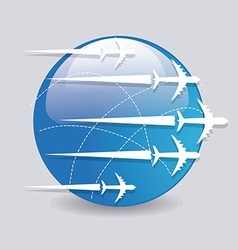 Airplane design vector