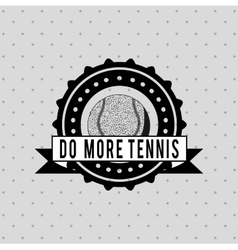 Tennis club design vector