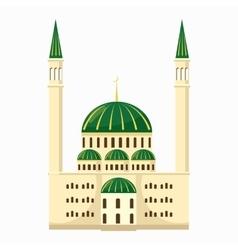 Mosque icon cartoon style vector image