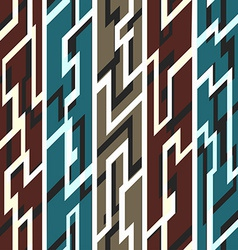 ancient geometric seamless pattern vector image