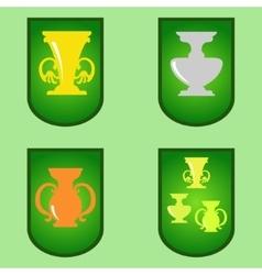 Cup Cartoon vector image vector image