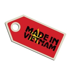 Made in Vietnam vector image vector image