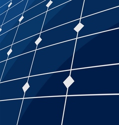 Solar panel background vector image vector image