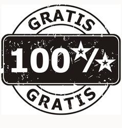 Stamp gratis vector