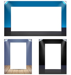 template for design vector image vector image