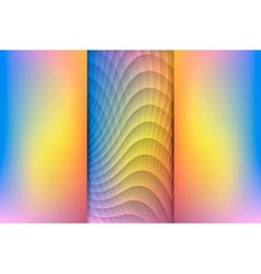 Sunrise colored abstract background vector